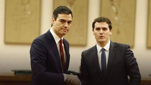 Albert Rivera se adelanta y cierra la puerta a una presidencia alternativa de Pedro Sánchez