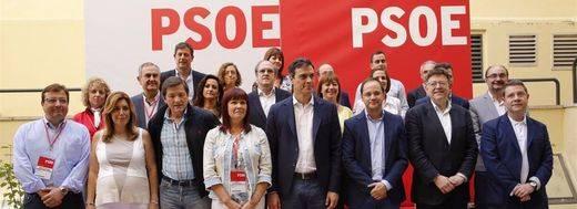 El PSOE se fragmenta un día antes de un Comité Federal que decidirá el futuro próximo de España y el del partido