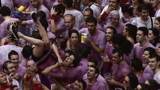 Pamplona aplaude la