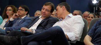 >> Fernández Vara, como con la OTAN: Rajoy, 'de momento', no