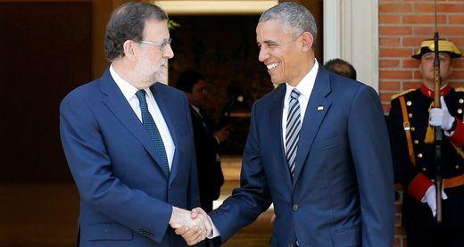 Hay cosas que nunca cambian: Rajoy regala un jamón a Obama