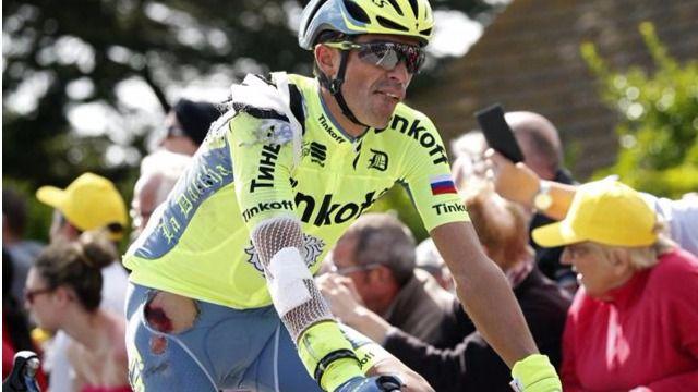 Contador abandona: 'Meses de trabajo y en nueve días el Tour termina para mí'
