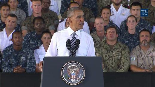 La primera visita de un presidente de EEUU a Rota, convertida en una superbase con el nuevo acuerdo