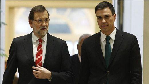 >> La reunión de Rajoy y Sánchez será este miércoles en el Congreso