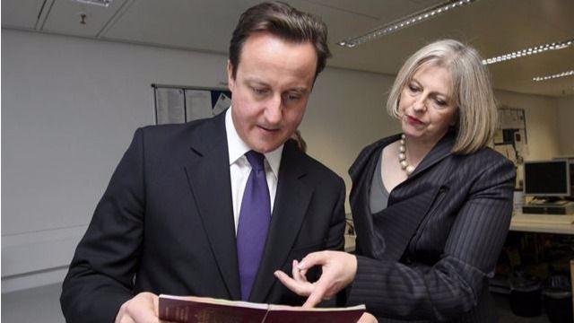 David Cameron confirma a Theresa May como primera ministra británica