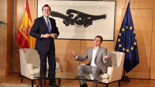 2 vetos 2: Rajoy mantiene su reunión con Rivera y después verá a Pablo Iglesias