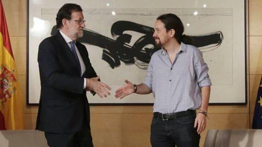Iglesias advierte al PSOE tras reunirse con Rajoy: