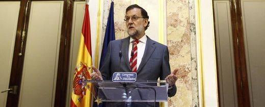 """Rajoy pregunta """"qué salida le damos a esto"""" si no consigue apoyos suficientes"""