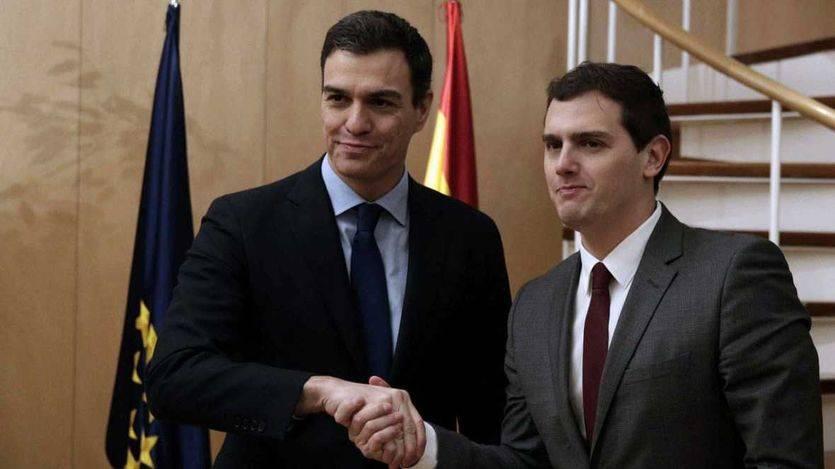 PSOE y Ciudadanos coinciden por separado en rechazar el documento del PP para negociar la investidura de Rajoy