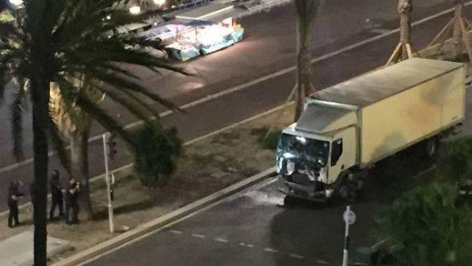 > Los vídeos del atentado de Niza