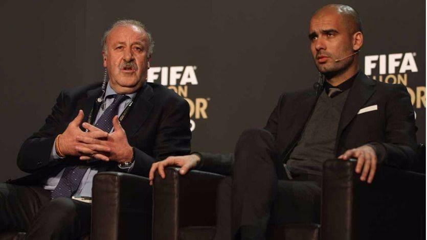 Del Bosque propone como seleccionador...¡a Guardiola! 'para acercar a Cataluña al resto del país'