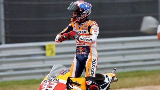 Márquez se impone con una exhibición táctica en Sachsenring