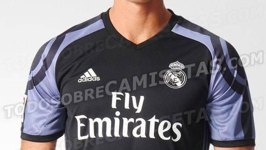 Así será la tercera camiseta del Real Madrid en la nueva temporada 2016-17