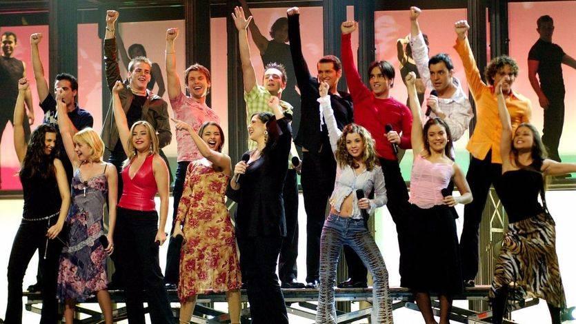 TVE celebra el decimoquinto aniversario de OT: los 'triunfitos' de la primera edición vuelven a la carga
