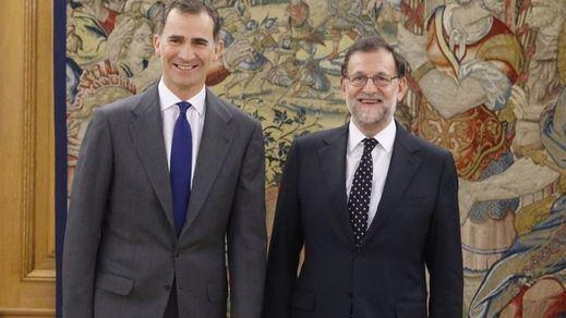 El Rey no moverá ficha hasta que Rajoy tenga atados los apoyos para la investidura
