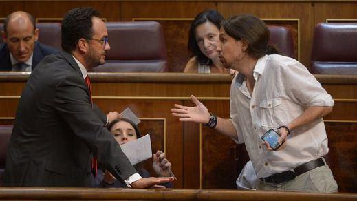 Iglesias renuncia ya a una alternativa progresista al Gobierno del PP