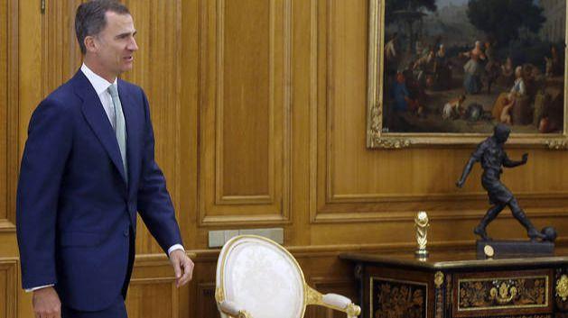 El Rey cierra el calendario de consultas de cara a la investidura, que acabará el jueves 28 con Rivera, Iglesias, Sánchez y Rajoy