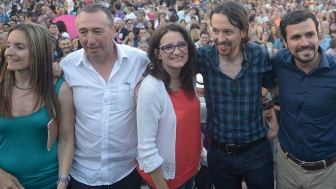 Compromís volverá a separarse de Podemos en el Congreso si no les conceden grupo propio