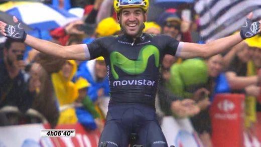 Ion Izagirre da una exhibición bajo la lluvia y se lleva su etapa del Tour