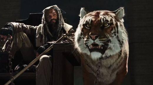 Espectacular primer tráiler de la séptima temporada de 'The Walking Dead': llegan Ezekiel y su tigresa Shiva