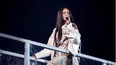 Rihanna decepcionada con sus fans durante uno de sus conciertos: