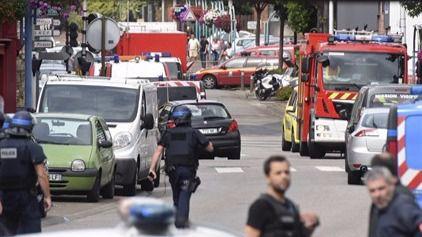 Los terroristas de la iglesia de Normandía grabaron en video el asesinato del sacerdote Jacques Hamel