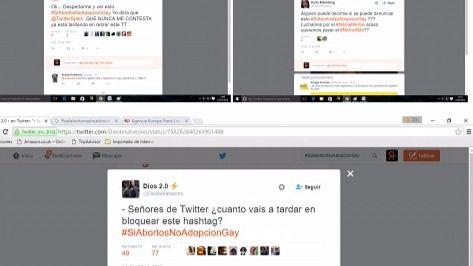 El hasgtag #SiAbortosNoAdopcionGay prende la mecha del debate en Twiiter