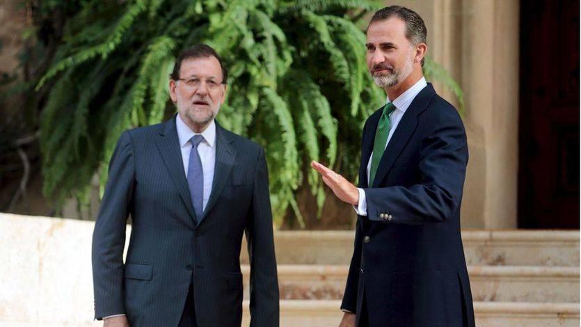 Rajoy amaga con volver a decirle 'no' al Rey, más preocupado por una 'agenda' política vacía