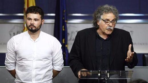 ERC apoyaría un Gobierno de Sánchez si el PSOE acepta el referéndum catalán