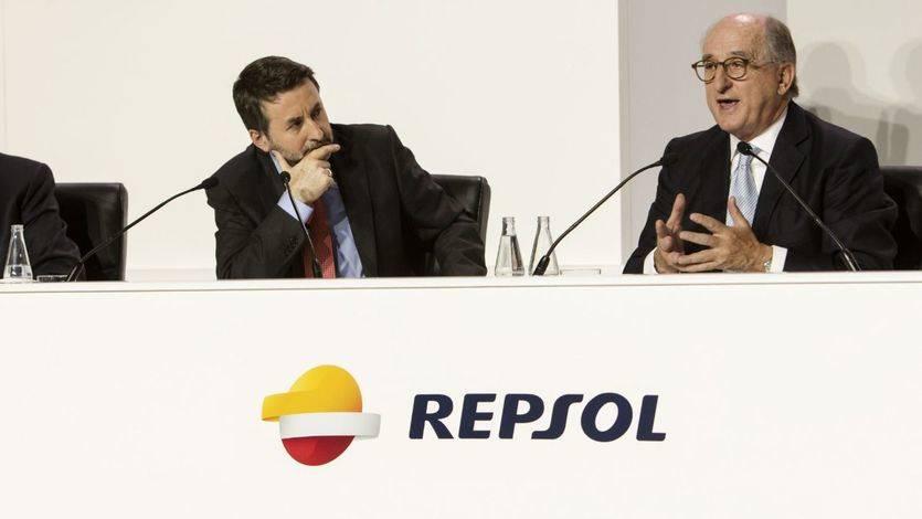 Presidente de Repsol, Antonio Brufau, y el Consejero Delegado de Repsol, Josu Jon Imaz