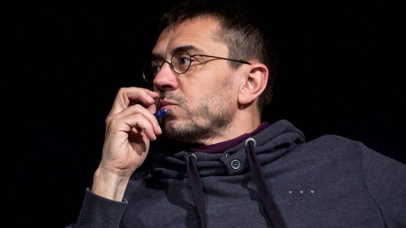 Monedero, suspendido 6 meses sin empleo y sueldo por su trabajo de asesoría a latinoamérica