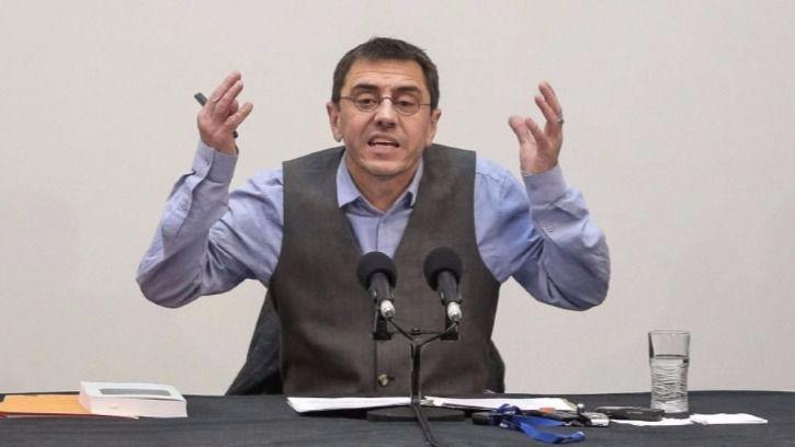 Monedero contraataca: denunciará al rector de la Complutense por 'revelación de secretos' y recurrirá la resol