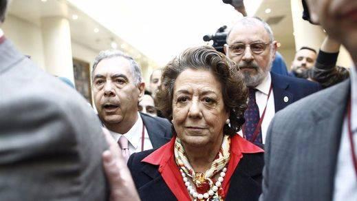 La Fiscalía pide juzgar a Barberá por blanqueo desde el Ayuntamiento de Valencia