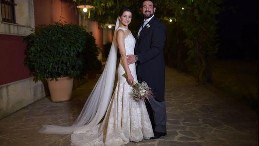 La 'ciudadana' Inés Arrimadas, una 'Pronovia' vestida de tul y chantilly para su flamante boda