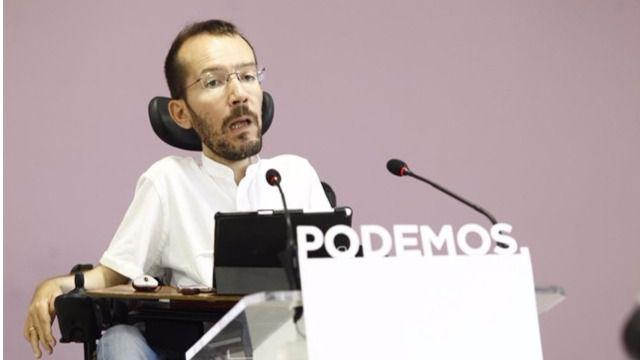 Echenique no sale del ojo del huracán por su asistente en 'negro': el PSOE pide más explicaciones