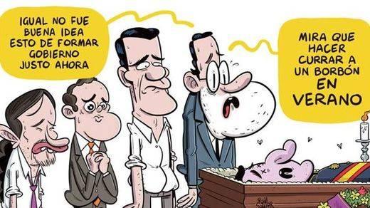 'El Jueves' 'mata' al Rey Felipe en su último número