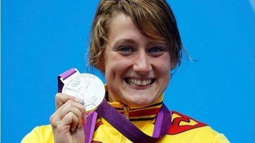 Mireia Belmonte, la doble medallista y gran esperanza en Río, es la deportista olímpica más conocida