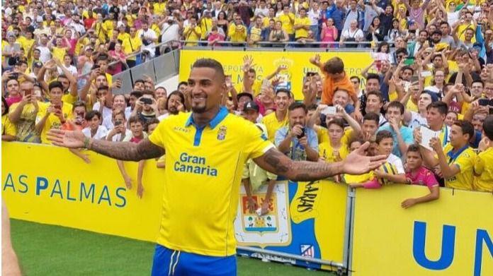 Boateng agardece a la UD Las Palmas que lo haya recuperado para el fútbol