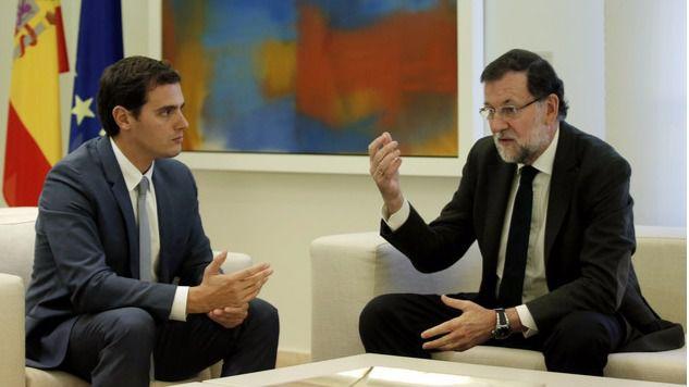 Los 11 puntos del documento negociador de Rajoy que Ciudadanos ya está estudiando