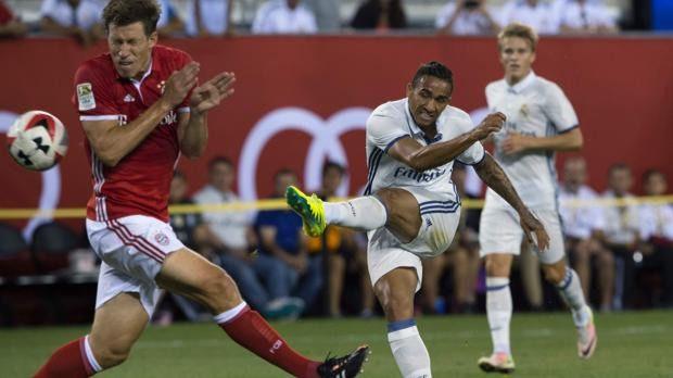 Un 'misil' de Danilo regala al Madrid una victoria de prestigio ante el Bayern (1-0)