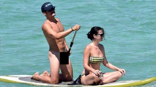 Orlando Bloom 'sube la temperatura' en las redes sociales con sus fotos desnudo