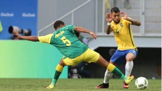 Otro petardo, ahora olímpico, del Brasil de Neymar: no puede con Sudáfrica (0-0)