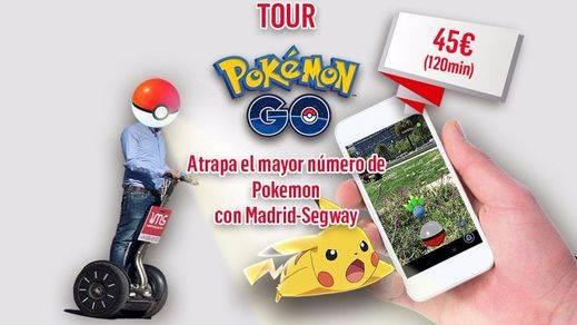 Jugar a Pokémon GO en segway ya es posible en Madrid