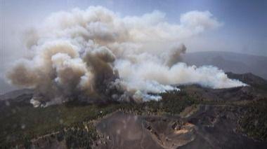 2.500 evacuados, unas 2.000 hectáreas quemadas y un muerto, las cifras del incendio de La Palma