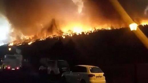 Prisión provisional y sin fianza para el detenido por el incendio de La Palma