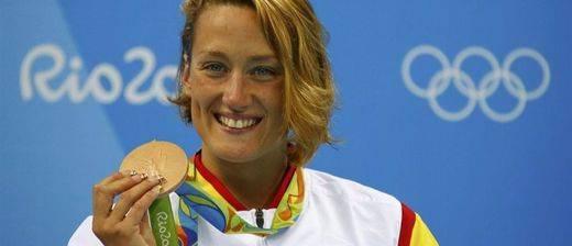 Mireia Belmonte, más mítica: saca a flote nuestra primera medalla en Río