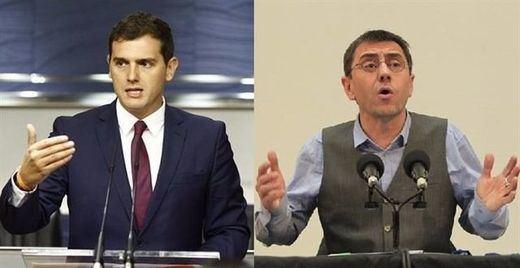 Rivera y Monedero se verán las caras en los juzgados en septiembre por la polémica sobre supuesto consumo de cocaína