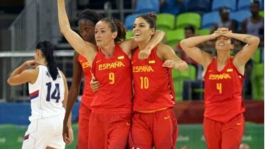 Gran inicio de las chicas del baloncesto ante Serbia (65-59)