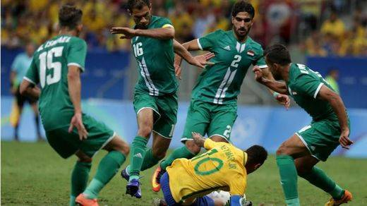 El Brasil de Neymar, de petardo en petardo olímpico: incapaz de vencer a Irak (0-0)