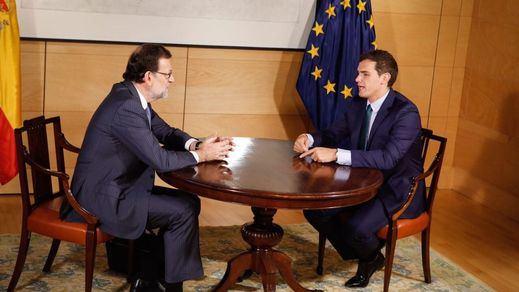 La nueva reunión entre Rajoy y Rivera para intentar formar gobierno será este miércoles